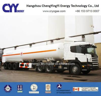 Lox Lin Lar Oxygen Nitrogen Argon Cabochon Dioxide Cryogenic Tank Truck Semi Trailer