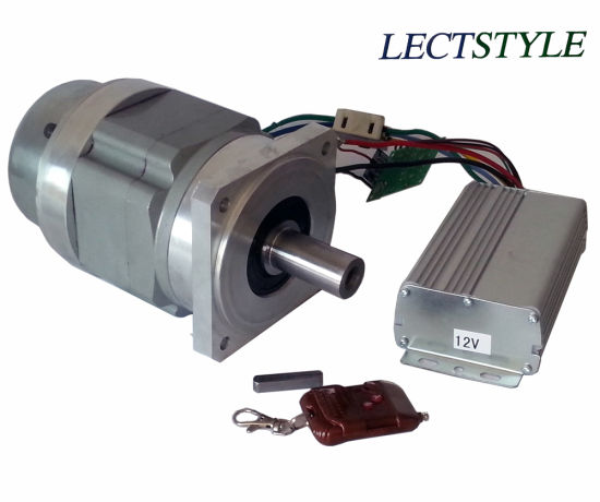 Planetary Reducer with Reduction Ratio 50: 1 on Brushless DC Motor
