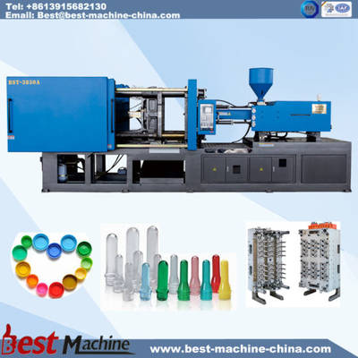 Plastic Pet Preform and PP Cap Injection Molding Making Machine