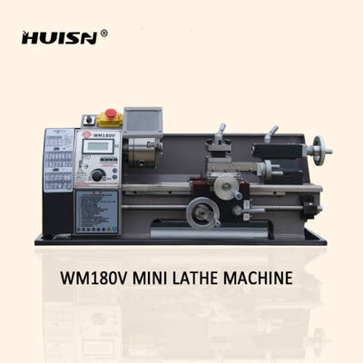 Wm180V DIY Mini Bench Hobby Lathe for Home Use