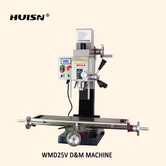 Wmd25vb Mini Size Belt Drive Milling and Drilling Machine