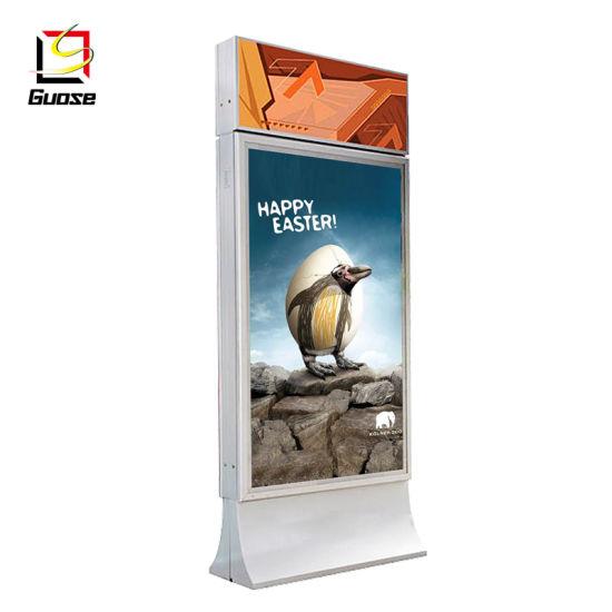 China Supplier Indoor Advertising LED Backlit Slim Light Box