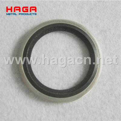 Metric Bsp Self Centering Rubber Metal Hydraulic Usit Ring Dowty Bonded Seals Washer