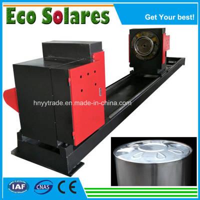 Non-Pressure Solar Water Heater Inner Tank Nipping Machine