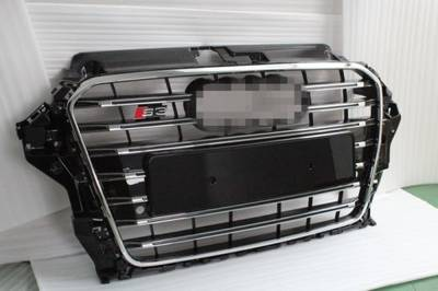 S3 Front Grille Without Acc for Audi A3, Aftermarket Parts, 2013-2015