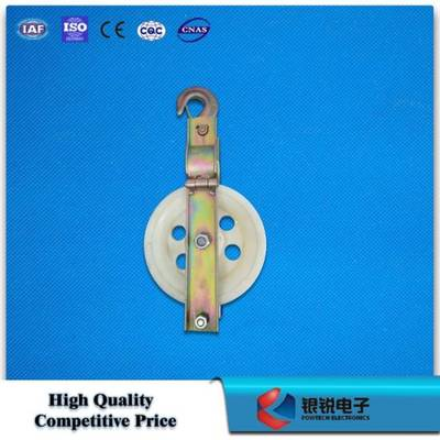Single Cable Pulley Block / Cable Pulley for Opgw Optical Cable