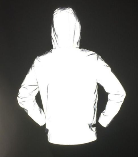 Custom 3m Reflective Safety Jacket Men Super Bright 3m Reflective Rain Jacket Coat High Visibility R