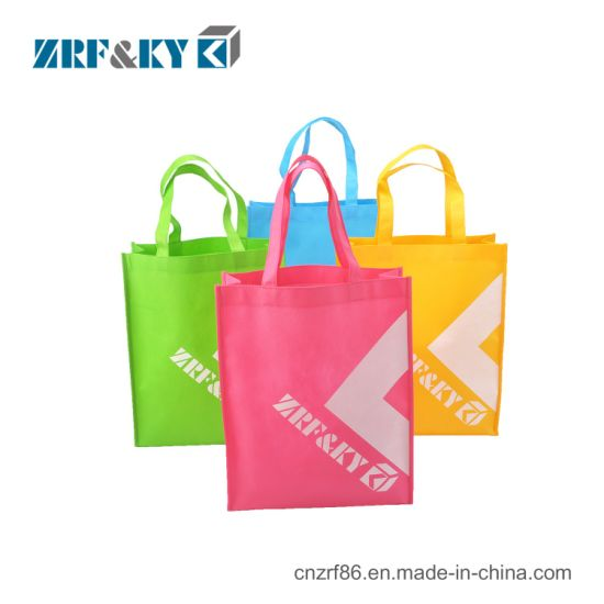 Custom Cheap Eco Friendly Recyclable Folding Shopping PP Non-Woven Bags