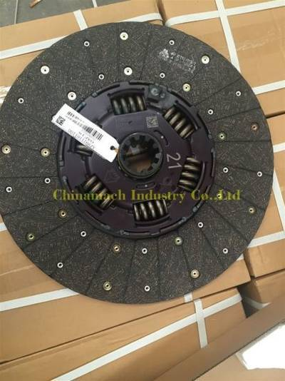 Genuine Sinotruk HOWO Truck Parts Clutch Disc Assembly (AZ9921161100)