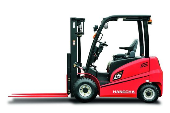 Hangcha Cpd25, 2 5t Electric Forklift, 4 Wheels Electric Forklift, 4 5m,  Hangcha 2ton, 2 5ton, 3ton,
