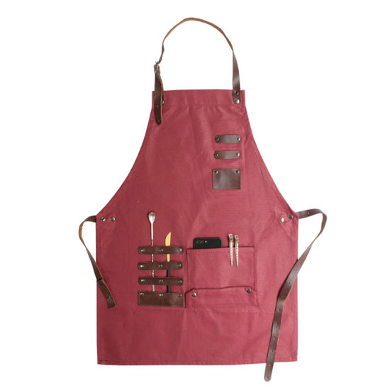 Hottest Custom Logo for Salon Denim Apron