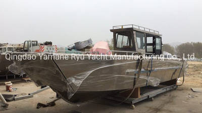 30FT Coast Guard Aluminum Patrol Craft with Wheel House