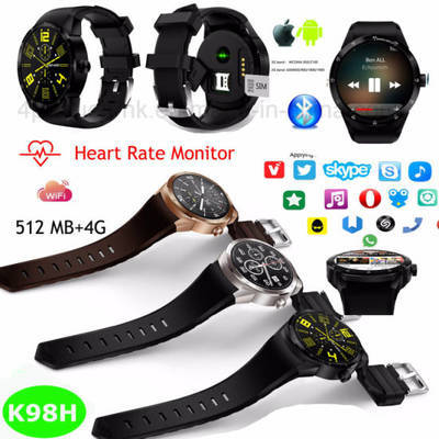 3G Sport Smart Watch with Heart-Rate Monitoring K98h