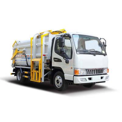 4X2 6.5 Cbm Hang Barrel Bucket Garbage Truck