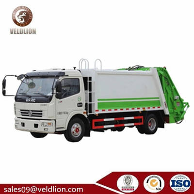 8m3 10t Refuse Compactor Small Garbage Compression Truck