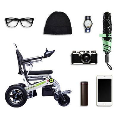 Airwheel H3s 24V 20.8ah Easy Folding Electric Wheelchair for Disabled