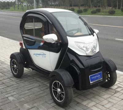 China Cheap 4-Wheel Electric Mini City Smart Car for Adult