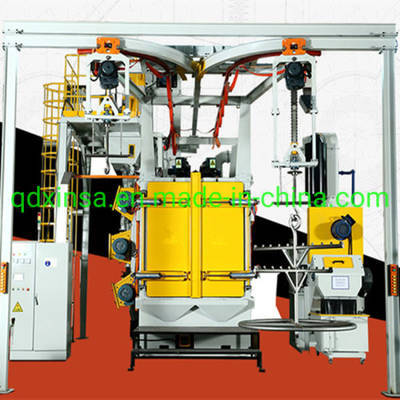 Export Standard Hook Type Shot Blasting Machine Used in Foundry, Forging, Mechanical and Steel Indus