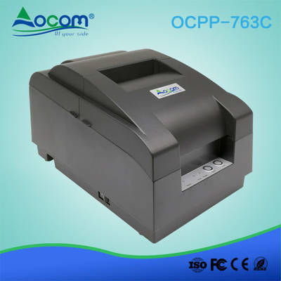 Factory 76mm Impact DOT Matrix Receipt Printer with Auto Cutter