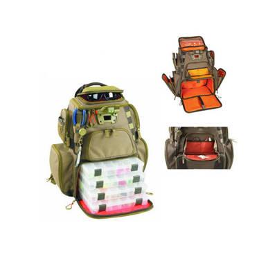 Junyuan Custom Tackle Fishing Rod Bag Backpack