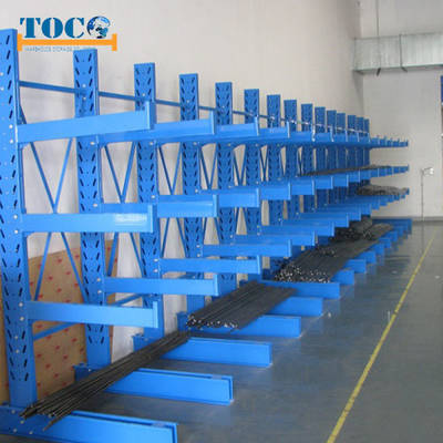 Powder Coating China Supplier Warehouse Storage Steel Cantilever Shelf