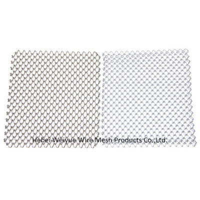 Stainless Steel/Aluminum Flexible Mesh Curtain for Wall Decoration/Interior Decoration