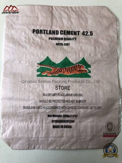 50kg PP Woven Bag with Valve for Cement, Putty Powder pictures & photos