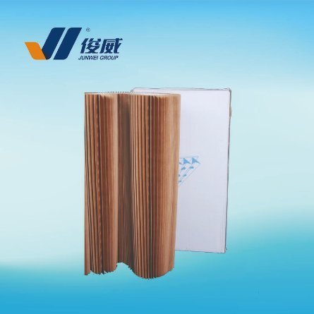 Accordion Style 1*10m Size Cardboard Pleated Filter