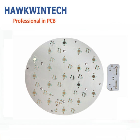 Aluminium Round LED Bulb Light AC PCB Board/Metal Circuit PCB
