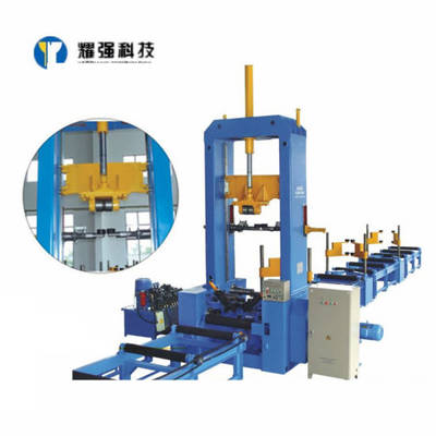 H I Beam Welding Production Line Assembly Machine with Automatic Spot Welding