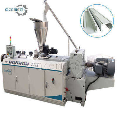 Zhangjiagang Twin-Screw PVC Profile Extruder Machine