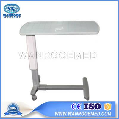 Bdt002a مستشفى طبي قابل للتعديل متحرك فوق سرير المريض طاولة طعام طاولة مستشفى بالجملة على Topchinasupplier Com