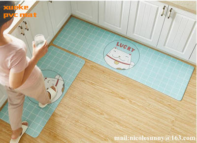 Beautiful Comfortable Eco-Friendly Washable Chair Carpet, Floor Mat, Kitchen Mat