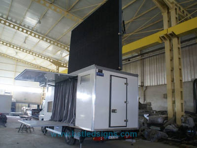 Best Quality P10 Outdoor Full Color LED Screen LED Mobile Trailer