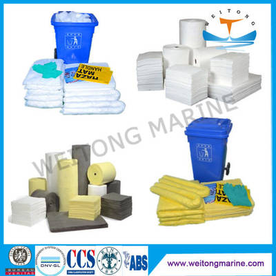 Marine and Industry Protection Oil Absorbent Chemical Universal Absorbents for Spill Control 100% Po