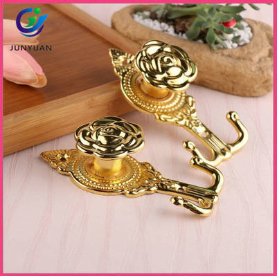 Wholesale Curtain Tassel Hook Classical Hook Tassel Holder for Curtain Accessory