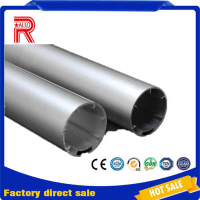 Curtain Accessory 28mm 38mm Aluminium Profile Aluminum Roller Blind Tube