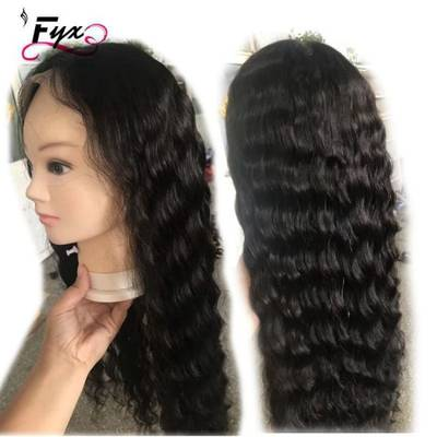 Deep Wave Human Hair Full Lace Wig
