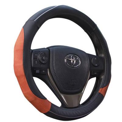 Deluxe Matte Grip Steering Wheel Cover 80486