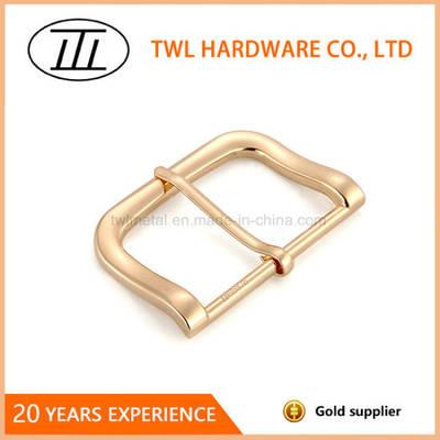 Factory Diret Light Gold Zinc Alloy Belt Buckle
