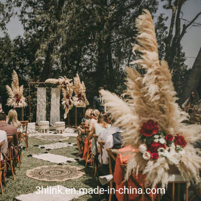 Floral Wedding with Pampas Grass