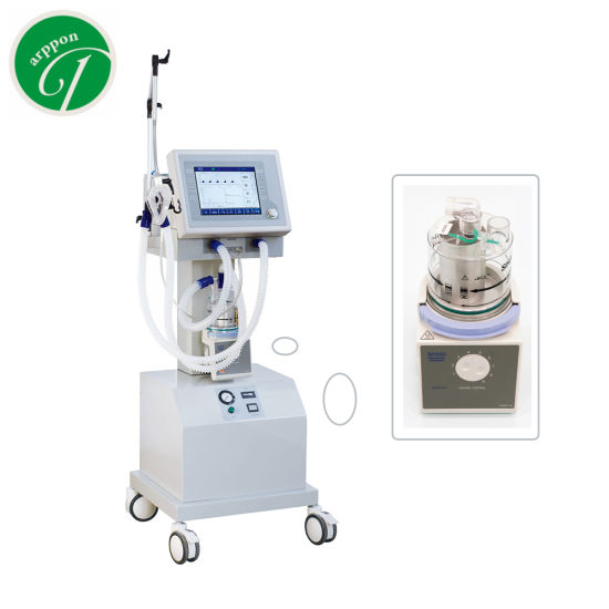 Chipatala cha O oxygen Ansirator ICU Ventilator Machine