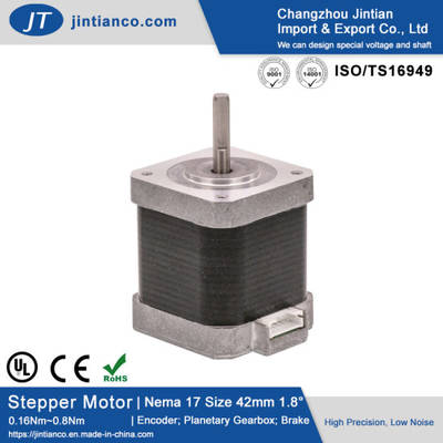 NEMA 17 Open Loop Step Stepper Motor with Plug-in Connector