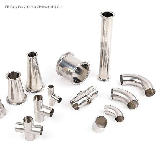 Wenzhou Factory Stainless Steel Food &Beverage Hygienic Tri-Clamp Pipe Sanitary Fittings