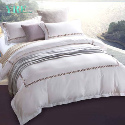 Yrf Wholesale Custom White Egyptian 100% Cotton Bed Linen