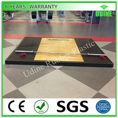 30mm Weightlifting Platform for Squat Cage