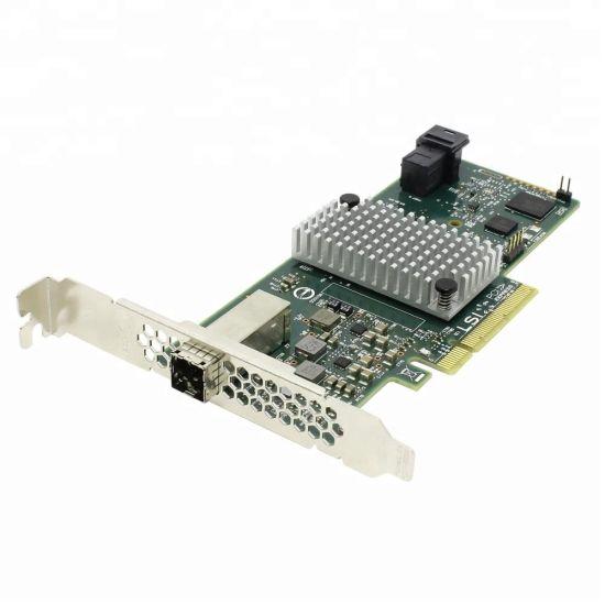 LSI Sas 9300-4I4e Host Bus Adapter LSI00348 Sas Hba H5-25573-00 4-Port Int 4-Port out 12GB/S Sas, Pc