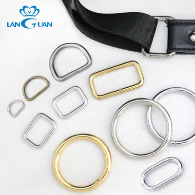 Metal Wire D Ring O Ring Bag Ring for Adjustment