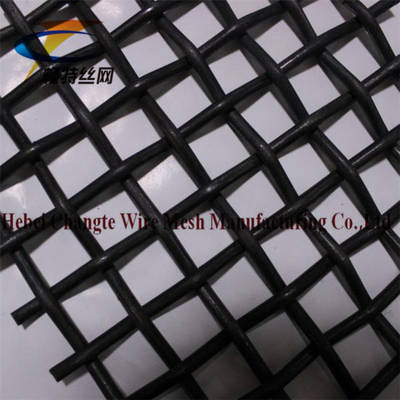 65mn Crimped Woven Screen Mesh Used in Vibrating Screen