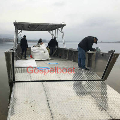 CCS Grade Approved Aluminum Landing Craft Boat for Hot Selling